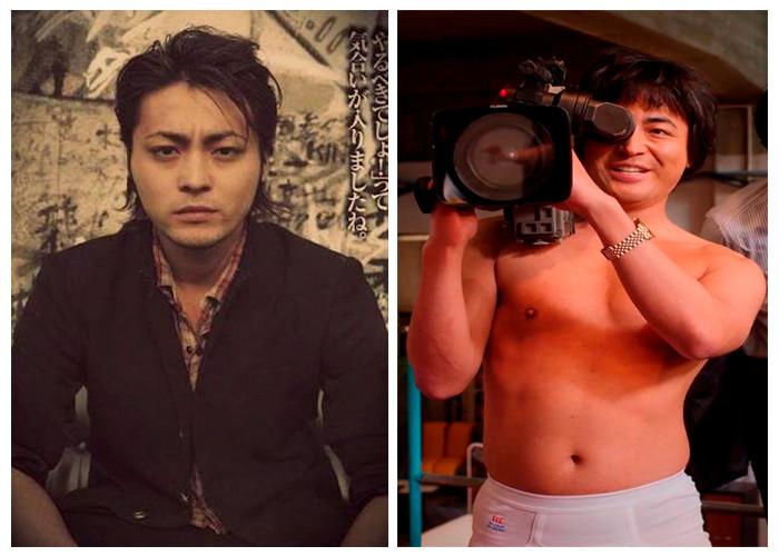 Takayuki Yamada como Serizawa a esquerda e Toru Muranishi a direita.