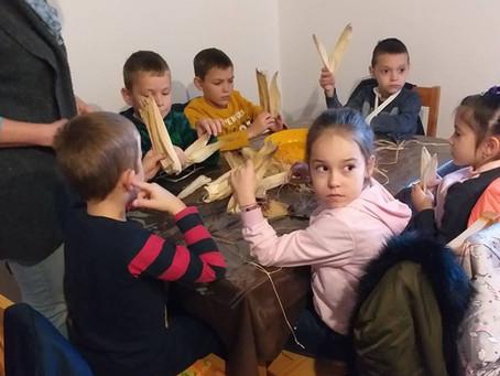 Márton napi kézműves foglalkozás a Falumúzeumban (2019.)