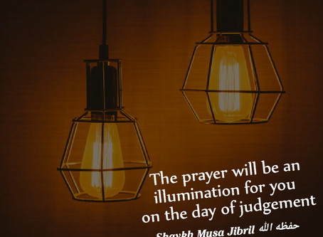 Illumination for you on the judgement day