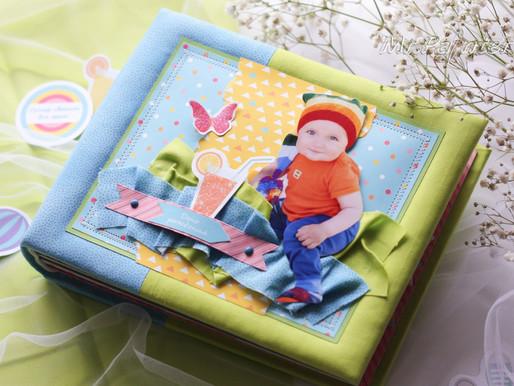 Детский альбом про летний День рождения