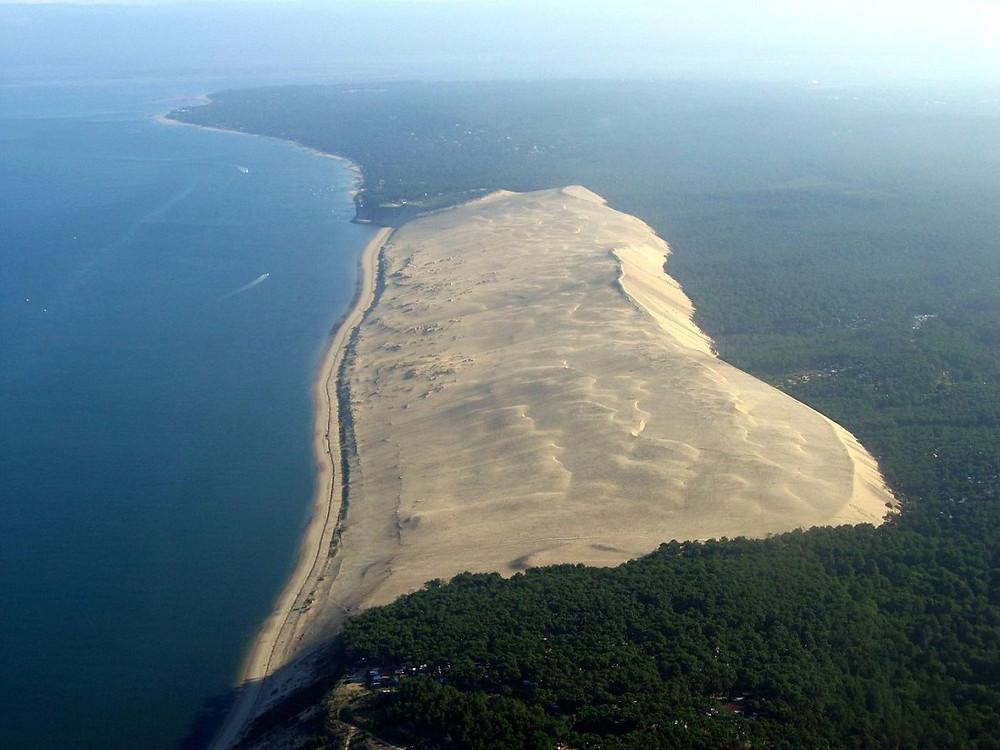 dune du pilat photo du ciel