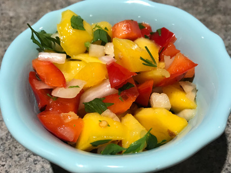 Cool and Refreshing Mango Salsa