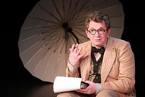 Андрей Ильин в спектакле «Крик лангусты», фото Кристины Бабаевой