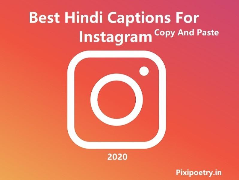 Instagram Captions in hindi for boys and girls, Shayari captions