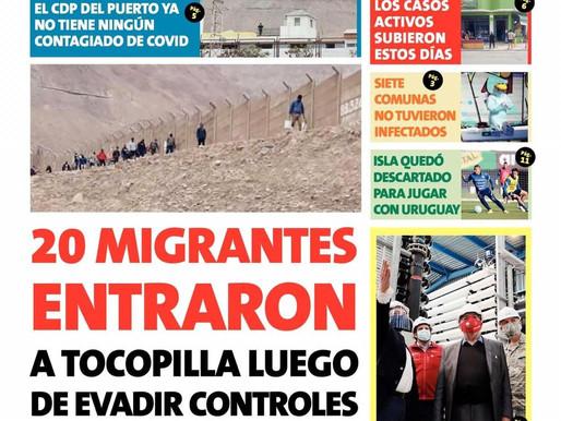 TITULARES DE LOS PRINCIPALES DIARIOS DE LA REGIÓN | 07 OCTUBRE DEL 2020