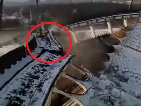 Trabajador se quedó dentro de estadio que iban a demoler; así murió