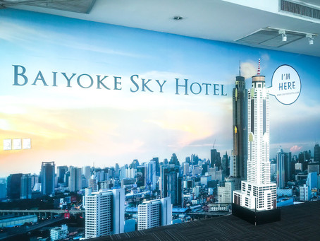 Baiyoke Sky Hotel w Bangkoku. Dlaczego nie polecam tego hotelu ?