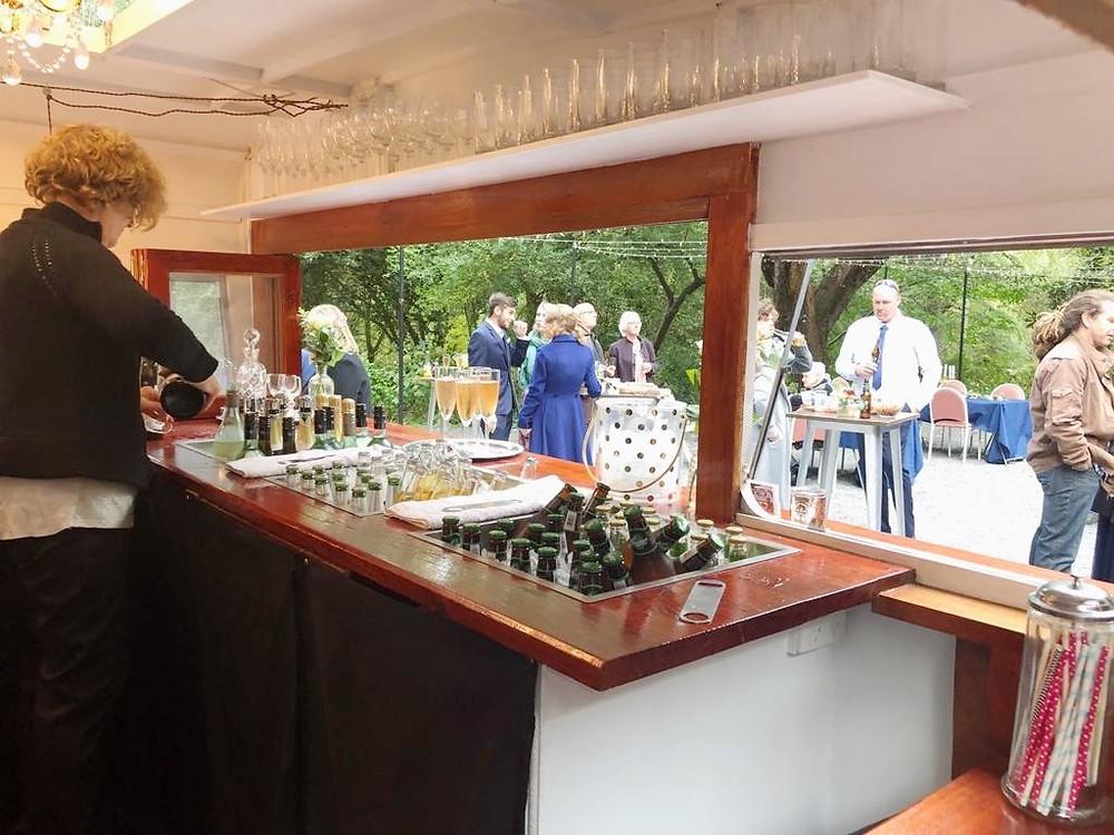 Inside Little Vintage Bar and Van Adelaide