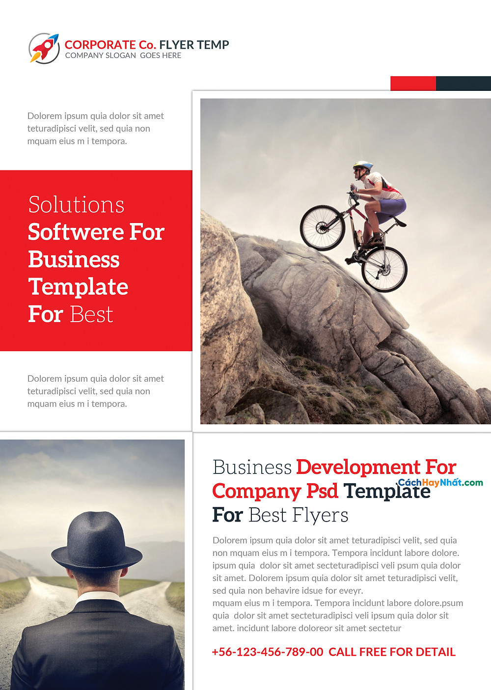 Business Flyers Templates Photoshop