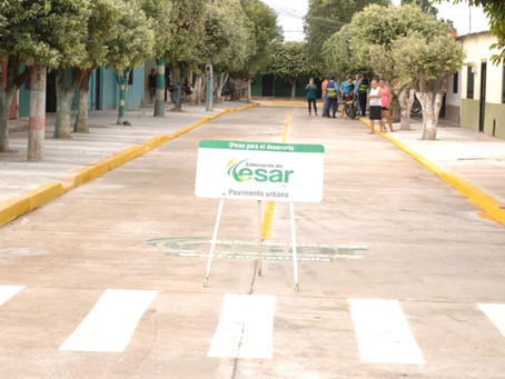 Así van las obras de infraestructura en Aguachica, Cesar
