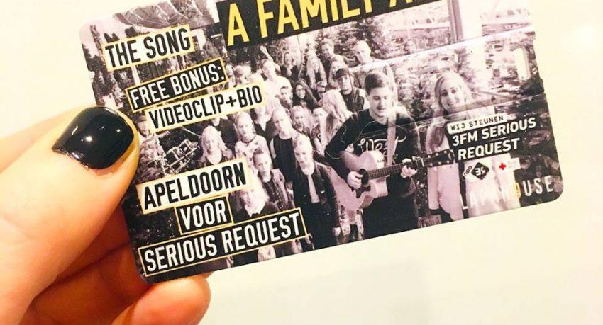 A Family Again de hitsingle voor 3FM Serious Request 2017