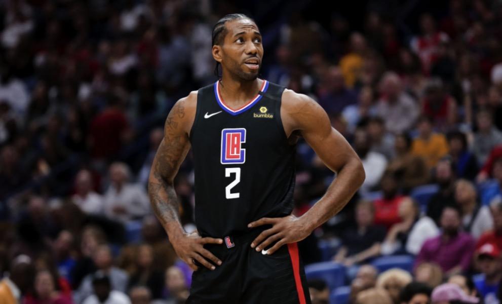Kawhi Leonard Los Angeles Clippers NBA Around the Game