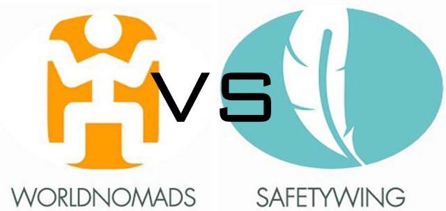 World Nomads VS SafetyWing Travel Medical Insurance