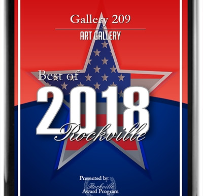Joining Gallery 209 in Rockville in February!