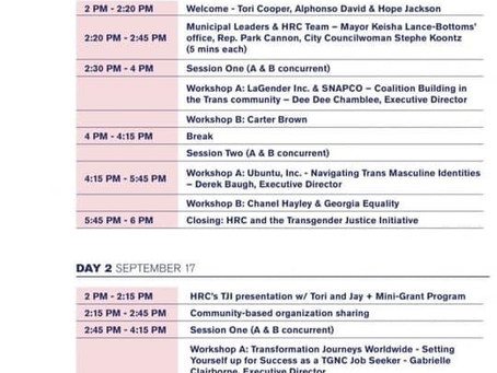 TRANS JUSTICE & ADVOCACY SUMMIT