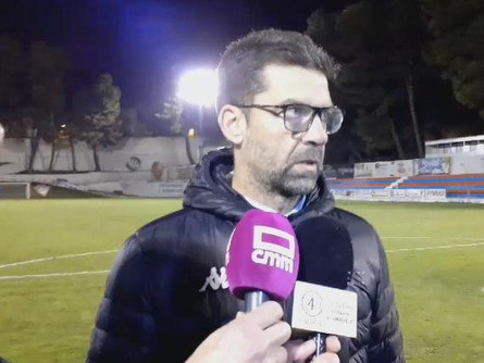 Escucha las declaraciones de Tito García SanJuán tras el CP Villarrobledo 0 San Fernando 4.