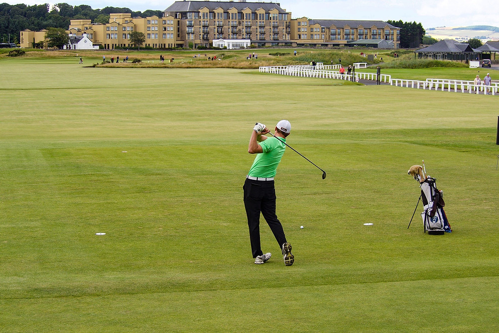 The Old Course in St Andrews