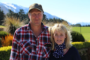 Bruce and Becky Hood from Mt Hutt Station