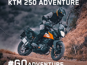 KTM 250 Adventure launched at Rs 2,48,256