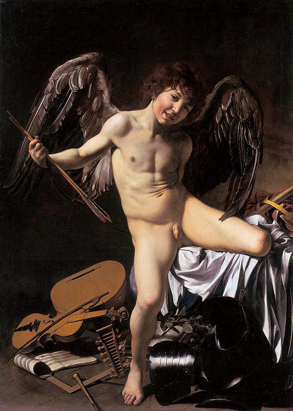 Caravaggio, Amor Vincit Omnia, 1601-1602