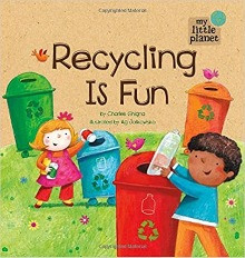 """recycling is fun"" book cover"