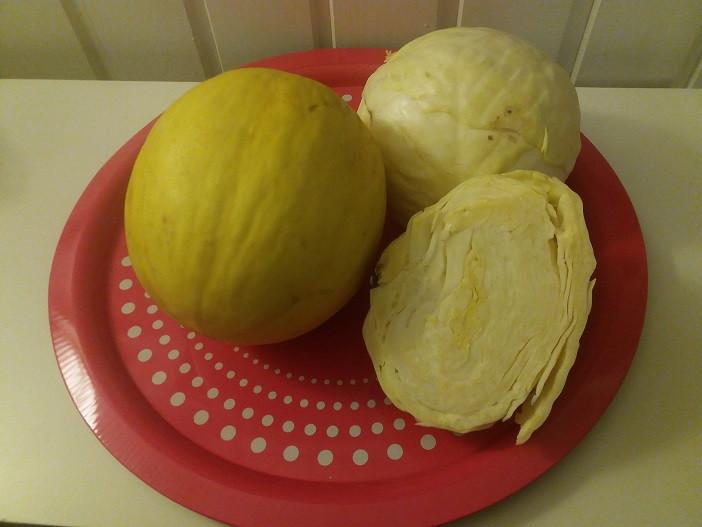 Heinäkuussa satokausikalenteri suosittelee kaaleja ja meloneita.