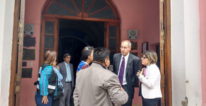 Caso Lamas: Realizaron inspección ocular en la parroquia de Rosario de Lerma