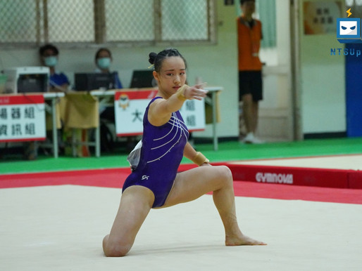 全中運/高女競技體操 奧運國手丁華恬全能初賽第一