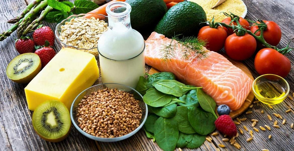 Healthy foods essential for hair growth