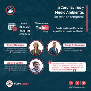Webinar   Coronavirus y Medio Ambiente: Un respiro temporal