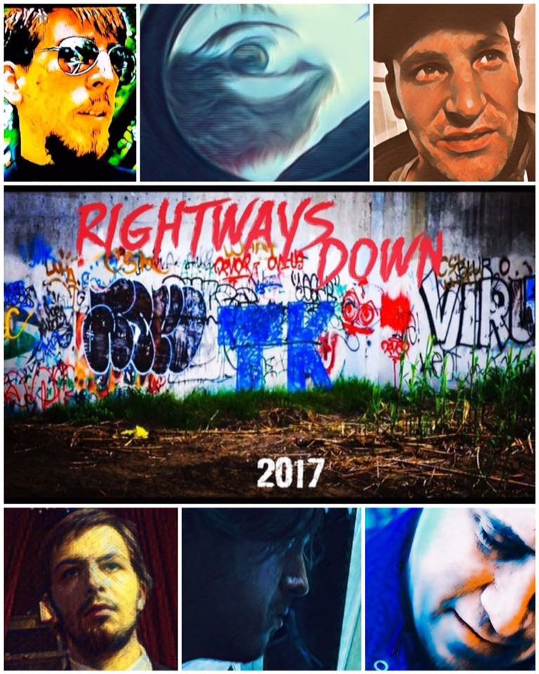 Rightways Down indie film poster