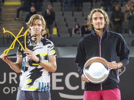 rublev (rus) wins 5th title at hamburg