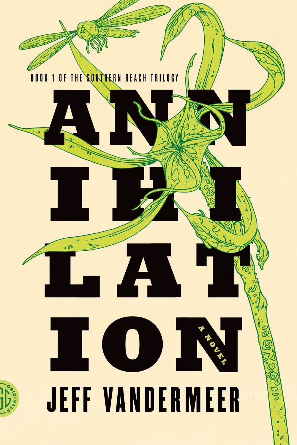Annihilation by Jeff Vandermeer : the book slut book reviews thebookslut best floral book covers valentines day books