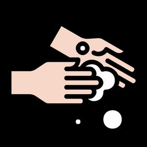 4443517 - bubble clean hand handwashing hygiene wash