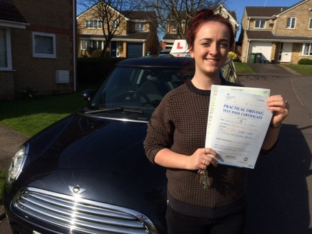 A great week of student passes once again. Well done Caitlin. Great result.