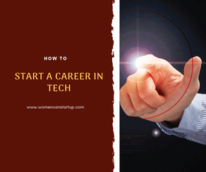 How To Break Into The Tech Industry (Infographic)