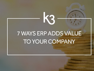 7 Ways ERP Adds Value To Your Company