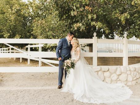 India + Kyle's Romantic Rustic Wedding in Las Vegas!