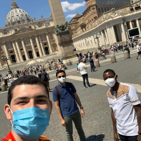Di nuovo in Piazza San Pietro!