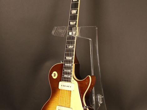 Ruskigt cool Gibson Les Paul Pro från 1978, en burst med P-90. Helt underbar kombination. 34999:-