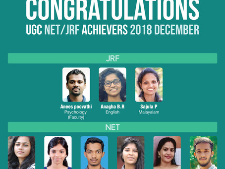 UGC NET/JRF Achievers from ASCENT