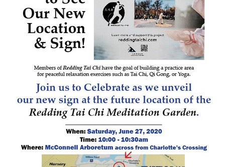 Join us for our Sign Unveiling June 27, 2020