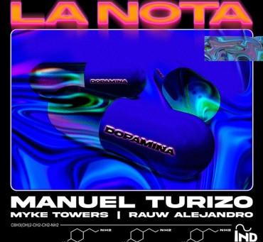 """""""La Nota"""" esto es lo nuevo de Manuel Turizo, Rauw Alejandro y Myke Towers  🔥🎶"""
