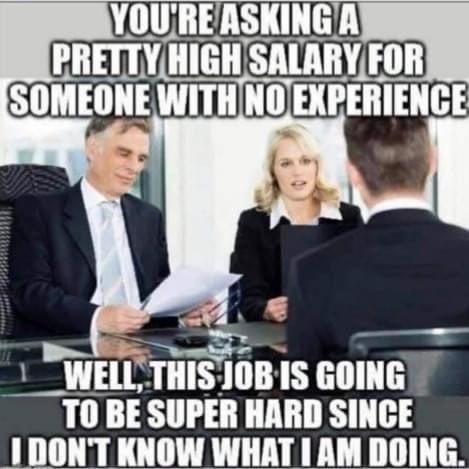 Funny Job Interview Memes