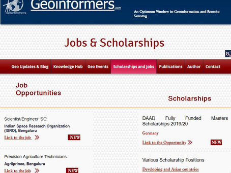 Visit our Scholarships and Jobs page