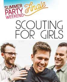 Scouting For  Girls 31/08/2018