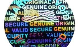 Sticker holographique, la sécurité absolue