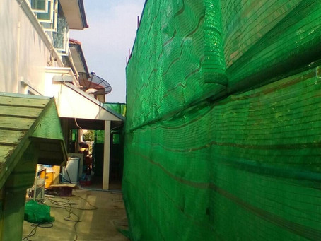 House renovation construction phase 1