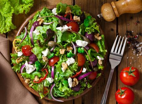 Arugula, Watercress, & Goat Cheese Salad with Raspberry Vinaigrette