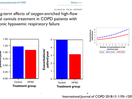 High-Flow at home in COPD patients: Evidence is coming